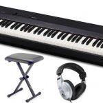 Panel sterowania fortepianu Casio jest intuicyjny i łatwy w nawigacji.
