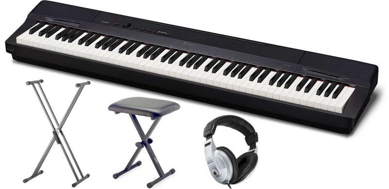 Panel sterowania fortepianu Casio jest intuicyjny i łatwy w nawigacji