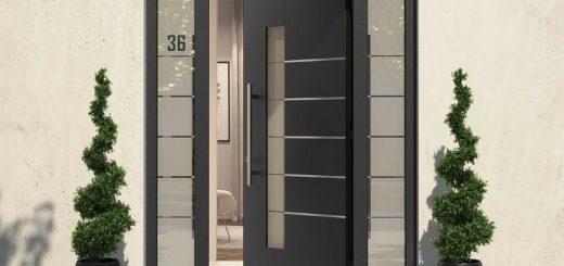 Drzwi aluminiowe wejściowe mają wiele zalet